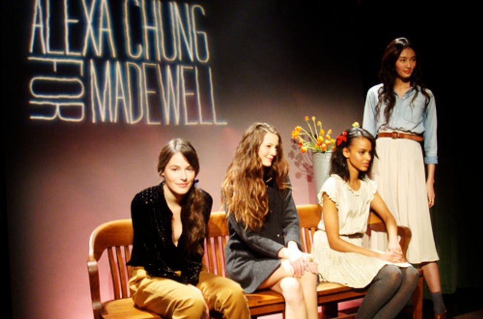 Alexa Chung Talks Madewell and Mad Men at the Bowery Hotel