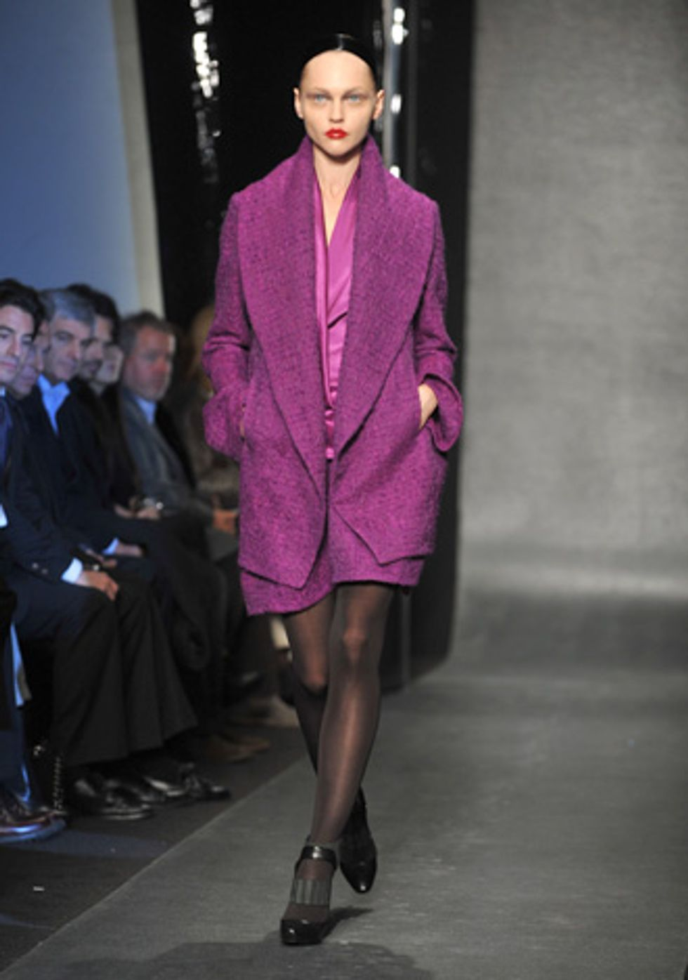Scenes from the Donna Karan Fall 2010 Show