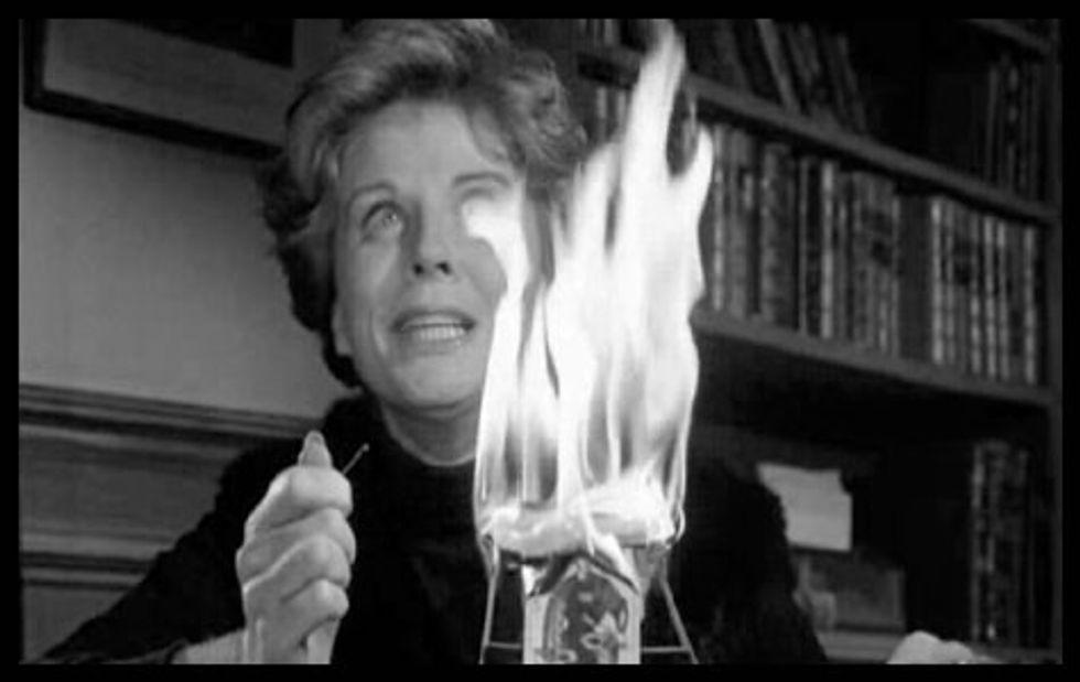 Great Supernatural Chiller Burn Witch Burn On DVD