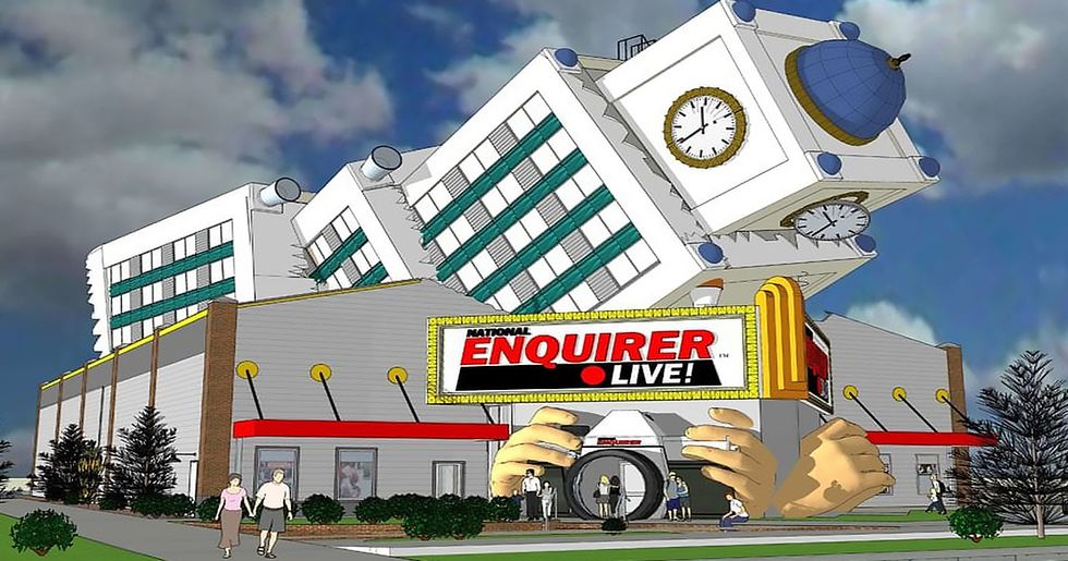 New National Enquirer Theme Park Ride Lets You Experience the Car Crash That Killed Princess Diana