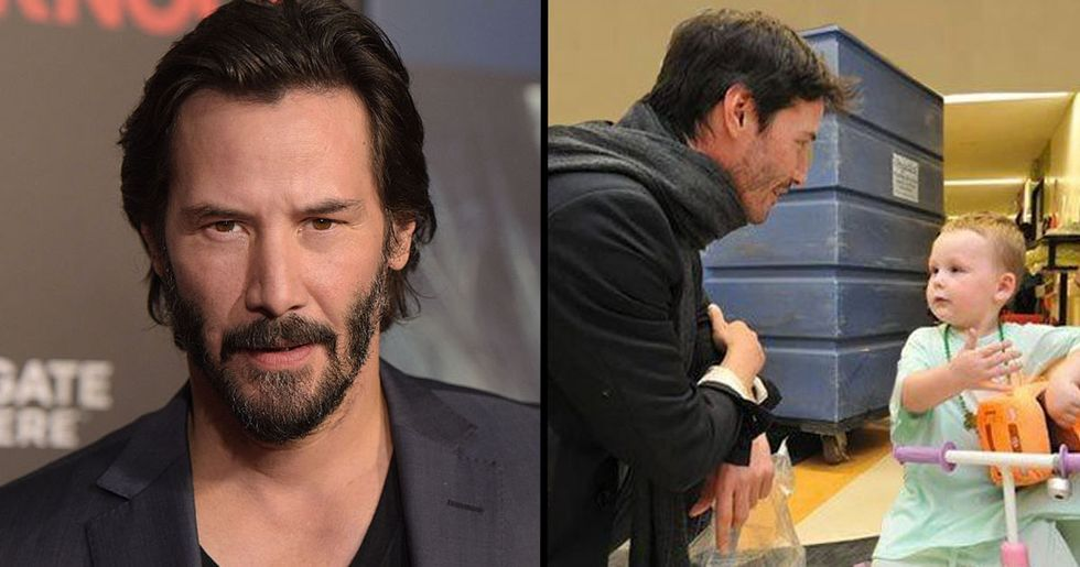 Keanu Reeves Quietly Donates Millions To Children's Hospitals Every Year