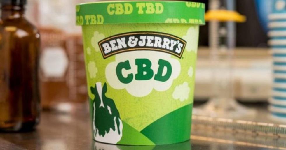 Ben & Jerry's Will Make CBD-Infused Ice Cream