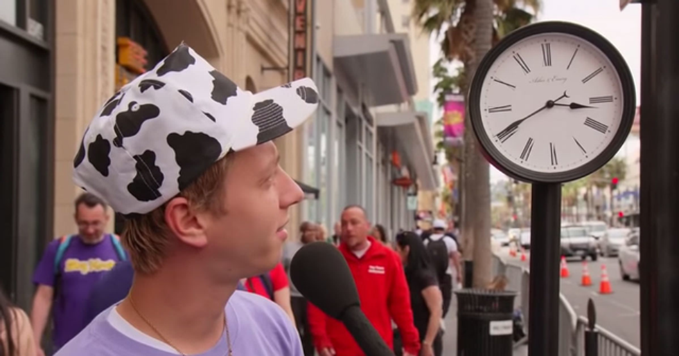 Jimmy Kimmel Finds out Millennials Can't Actually Read an Analog Clock