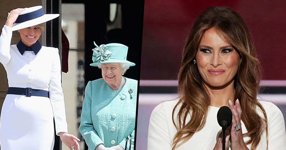 Melania Trump's $760 Gift Is Going to Be a Huge Hit with the Queen