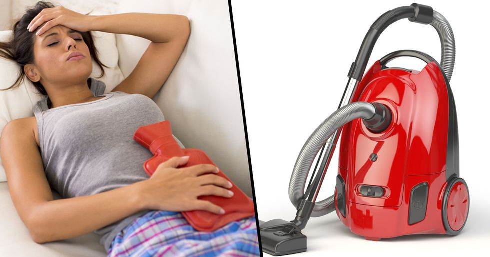 Women Urged Not to Use a Vacuum to End Their Period