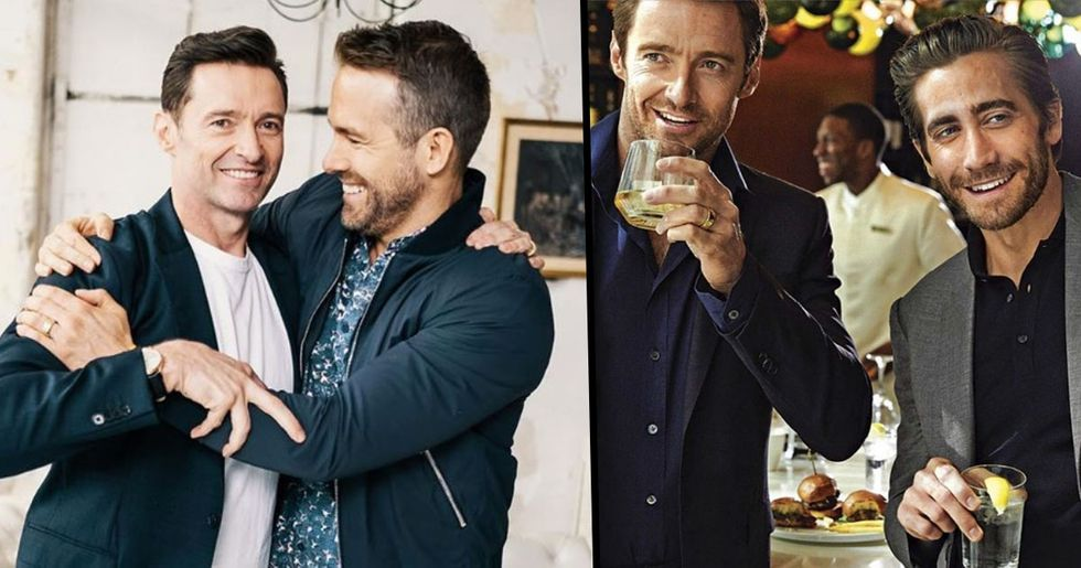 Hugh Jackman, Ryan Reynolds and Jake Gyllenhaal Trolled Each Other Perfectly On Best Friends Day