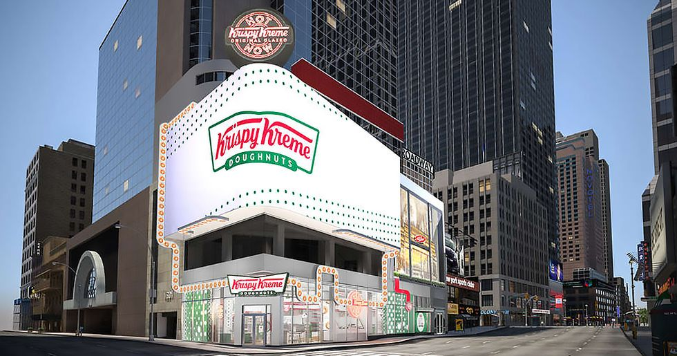 Krispy Kreme Opening 24 Hour Store so You Can Have Hot Doughnuts Any Time of Day