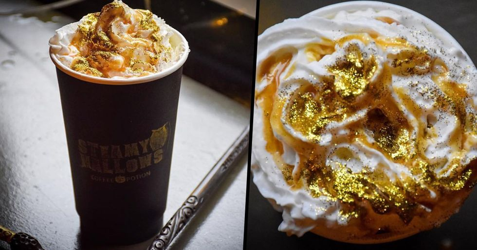 There's a New Harry Potter Cafe That Sells Glittery Butterbeer