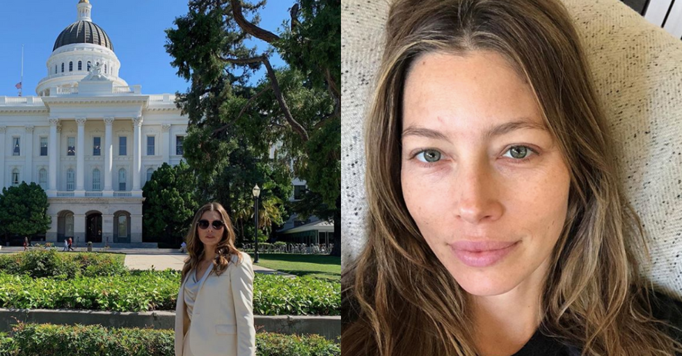 Jessica Biel Claims She's Not Actually an Anti-Vaxxer Despite Lobbying Against Pro-Vaccine Bill