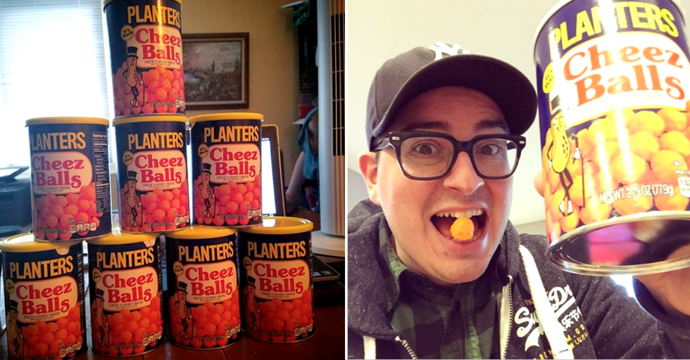 Planters Famous Cheez Balls Are Finally Back