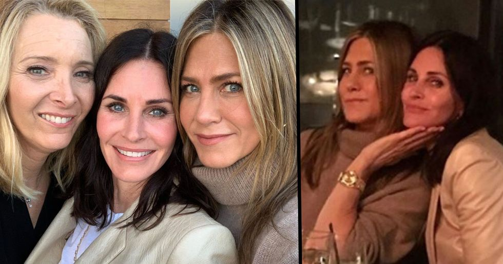 Courteney Cox Reunites with Jennifer Aniston and Lisa Kudrow for Her 55th Birthday