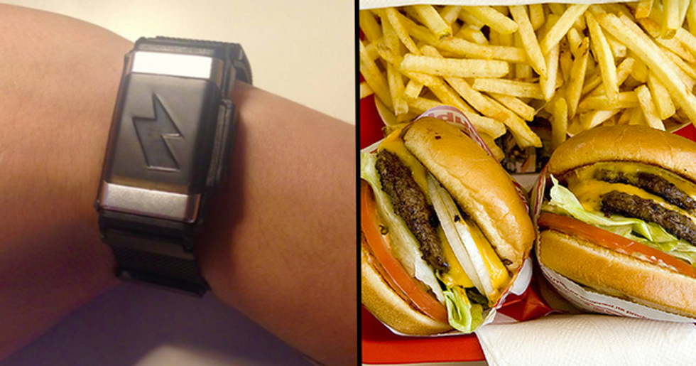 Amazon Is Selling a Bracelet That Will Shock You If You Eat Too Much Fast Food