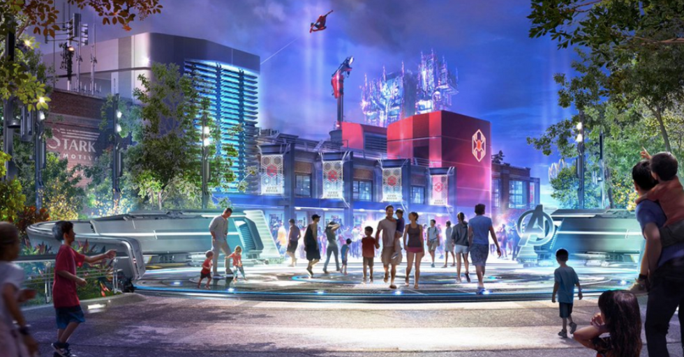 Disneyland Just Got Building Permits for $14M Marvel Land