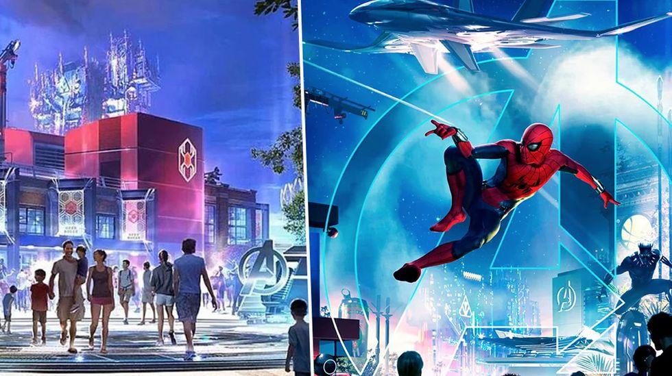 Disney to Open $14 Million Marvel Land in 2020