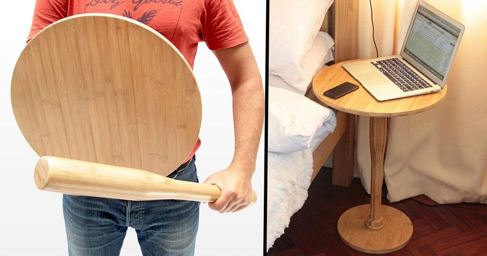 Amazon Is Selling a Nightstand That Turns Into a Bat and Shield
