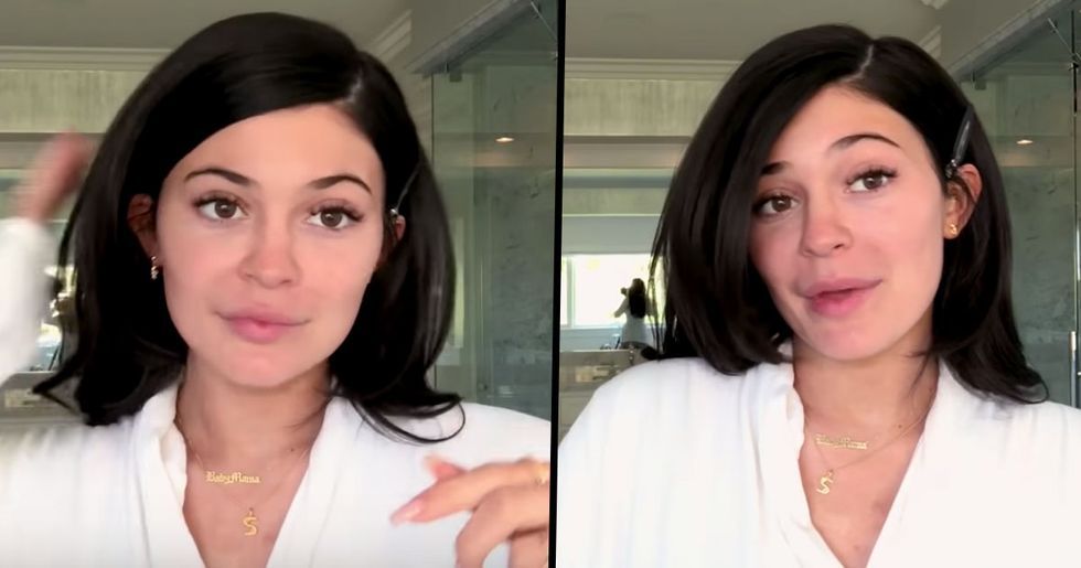 Watch Kylie Jenner Do Her Entire 35-Step Makeup Routine and Transform Herself