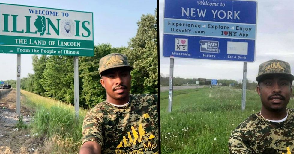 Alabama Man Traveled to All 50 States to Mow Veterans' Lawns for Free