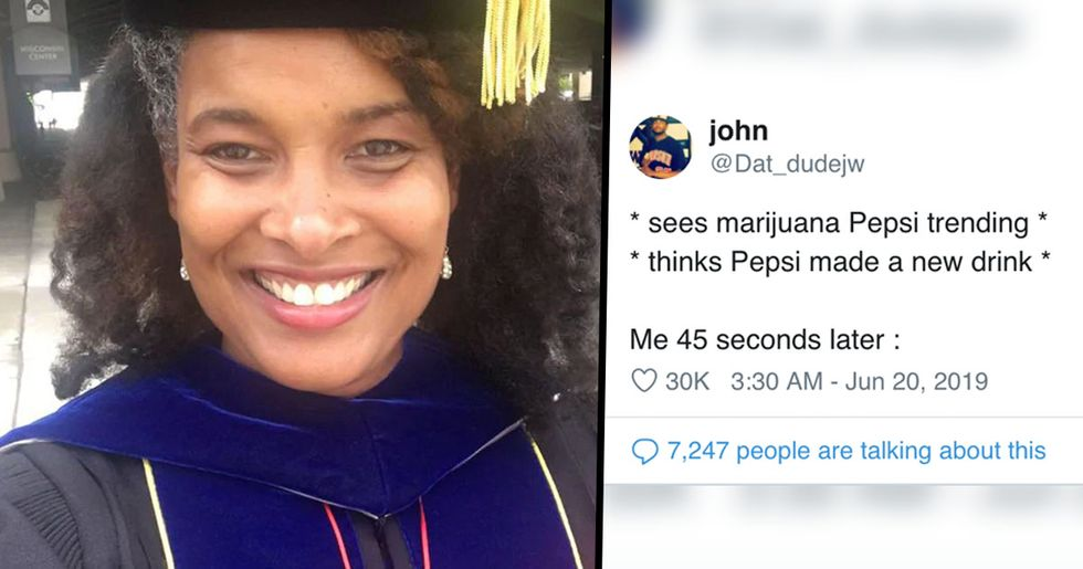 Marijuana Pepsi Earns Her Doctorate After Refusing to Change Her Birth Name
