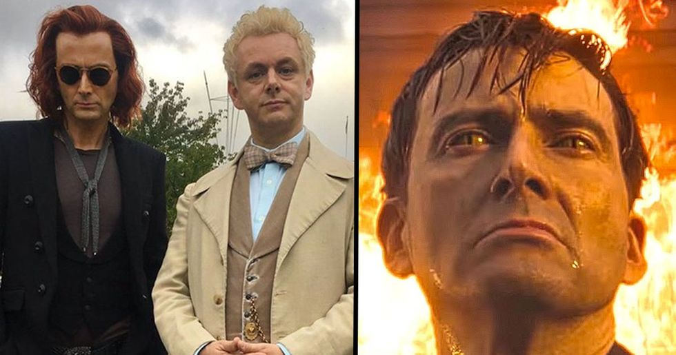 Christian Group Demand Netflix Cancel 'Good Omens,' a Show on Amazon Prime