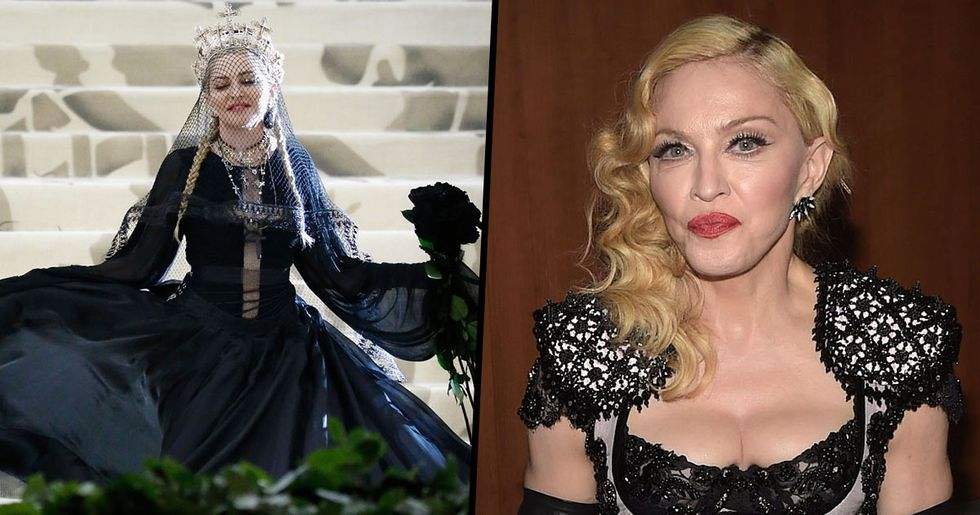 "Madonna Says ""Jesus Would Agree"" With Women Having Abortions"