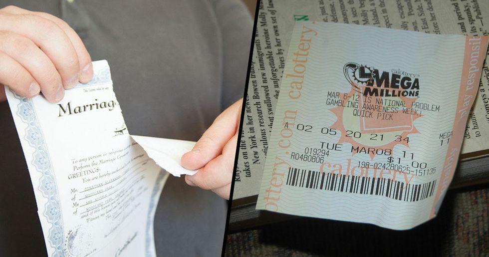 Lottery Winner Forced to Split $30 Million Winnings With Ex-Wife