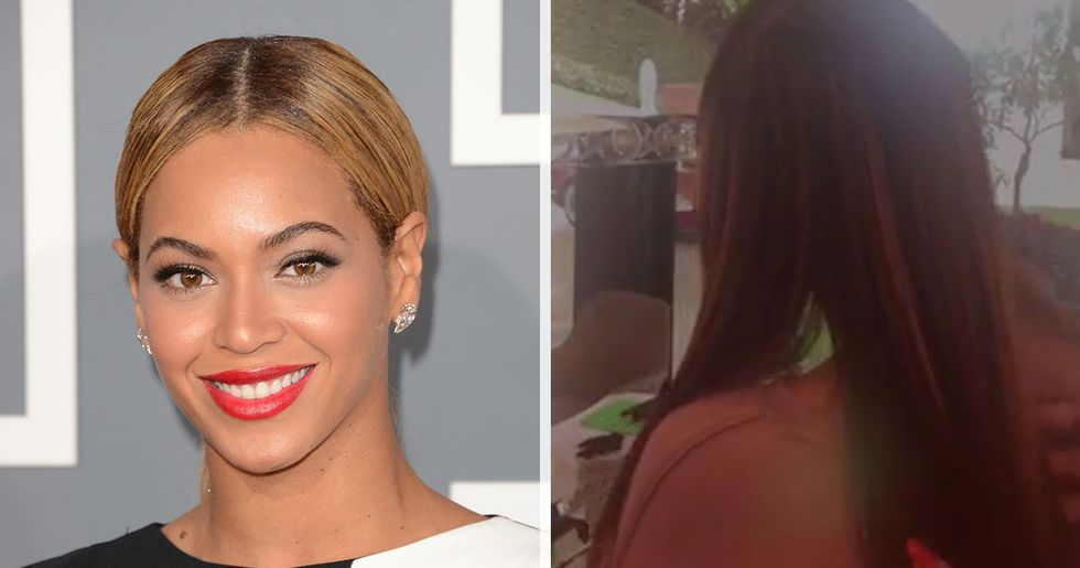 Beyonce Reveals Her Natural Hair and It Is Jaw Dropping