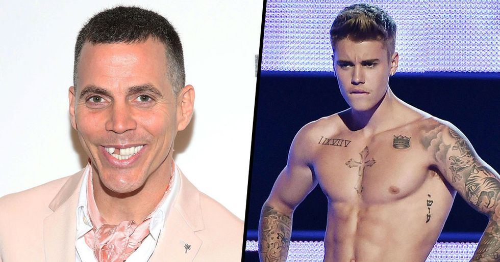 Steve-O Tells Justin Bieber to Fight Him Instead of Tom Cruise