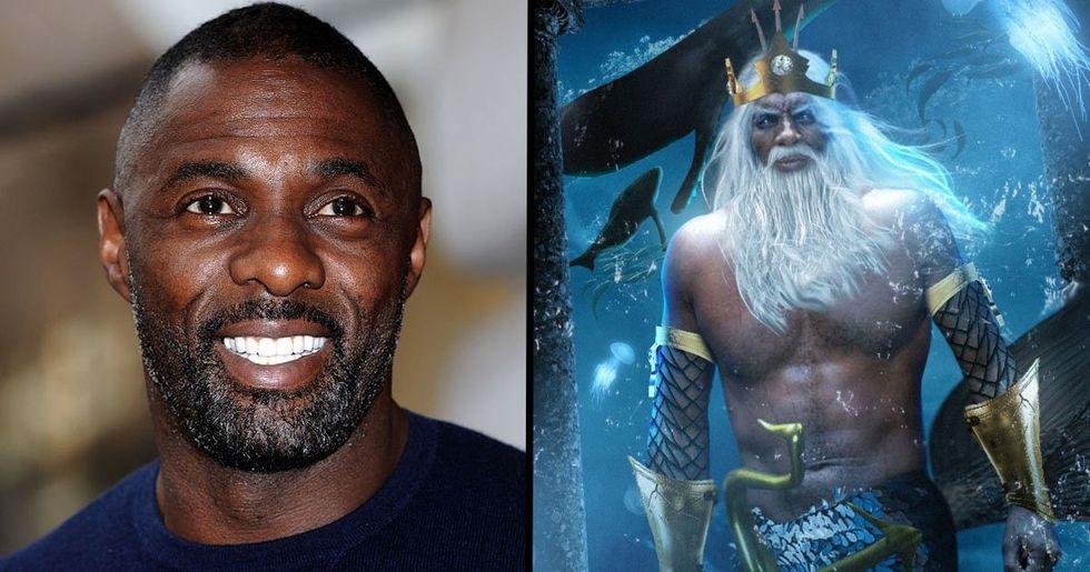 Fans Want Idris Elba to Play King Triton in Disney's 'Little Mermaid' Remake