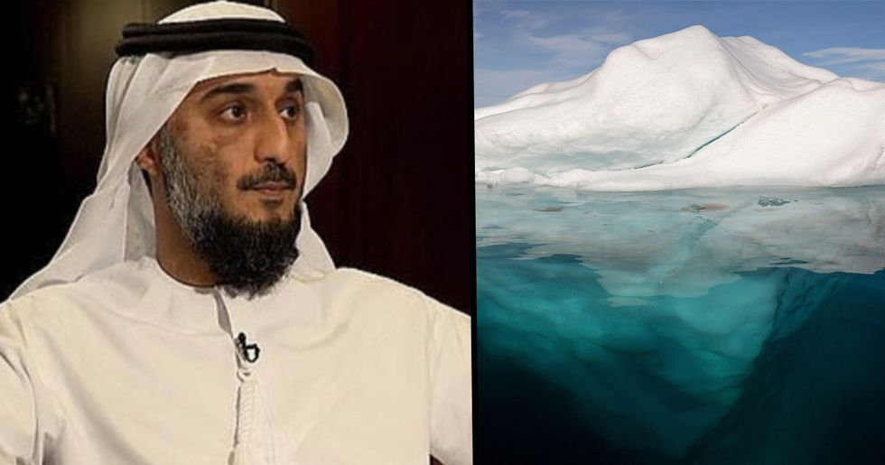 UAE Billionaire Planning to Drag an Antarctic Iceberg to Australia or South Africa