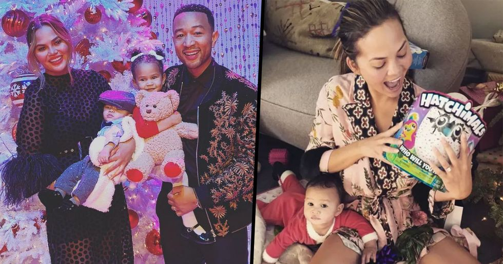 Chrissy Teigen Is the Most Relatable Celebrity Mom and We Have Proof