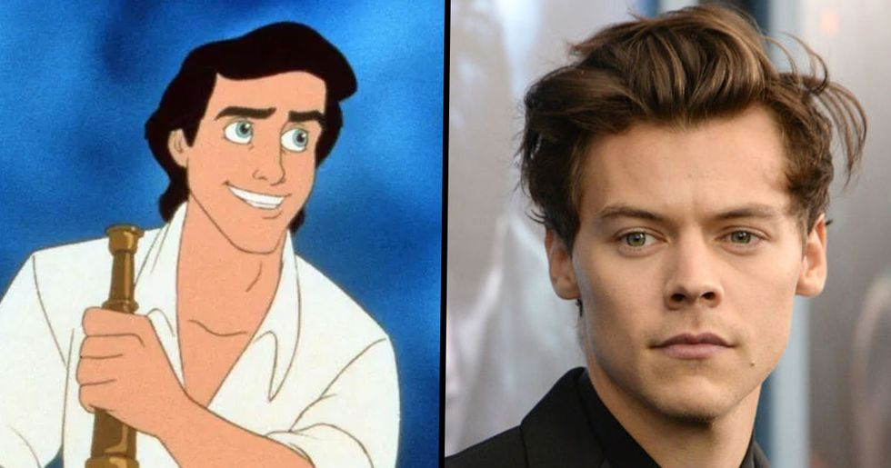 Harry Styles in Talks to Play Prince Eric in 'The Little Mermaid' Remake