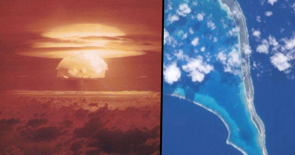 Nuclear Waste Leaking into Sea on Tropical Islands near Hawaii and Australia