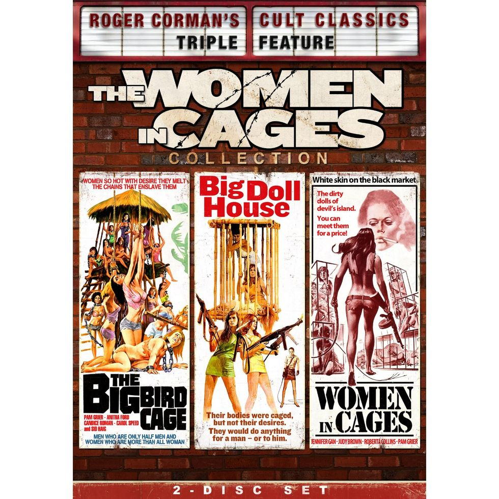The Outlandish, Fun Women In Cages Collection On Blu-ray & DVD