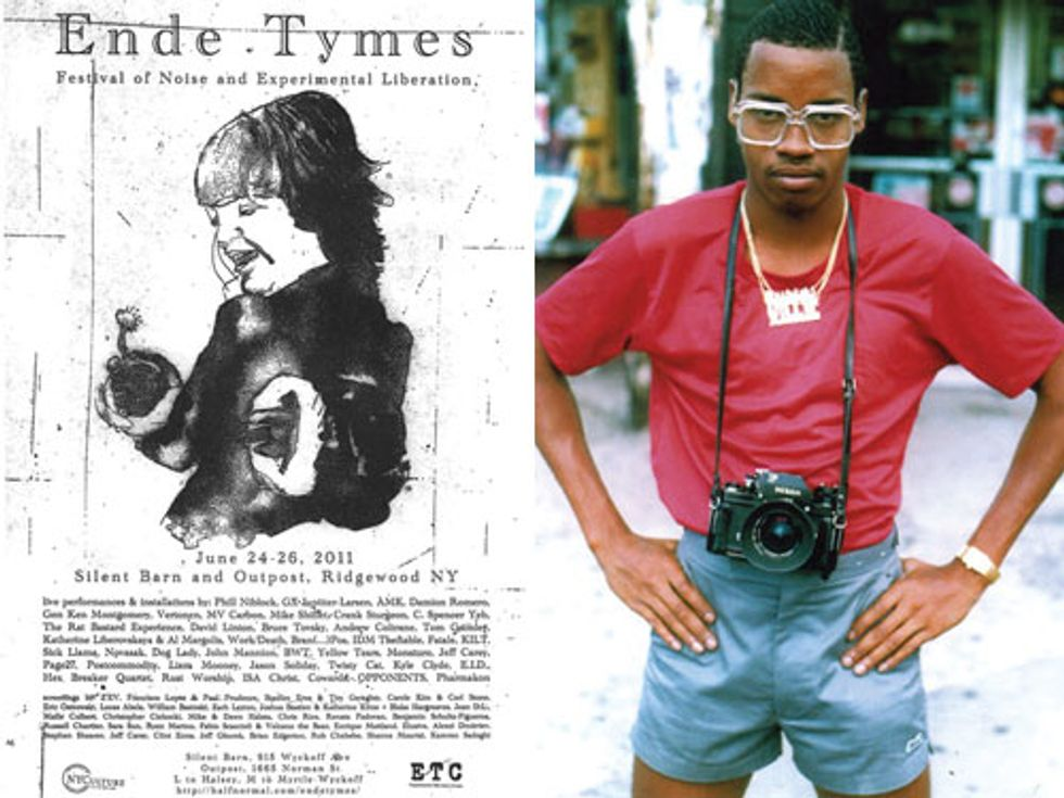 Eight Items or Less: Ende Tymes Festival of Noise + Jamel Shabazz Street Photographer Opens