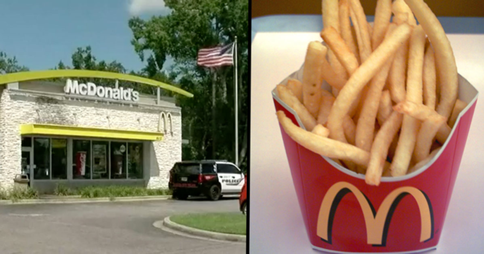 Woman Opens Fire in McDonald's Because 'Her Fries Were Cold'