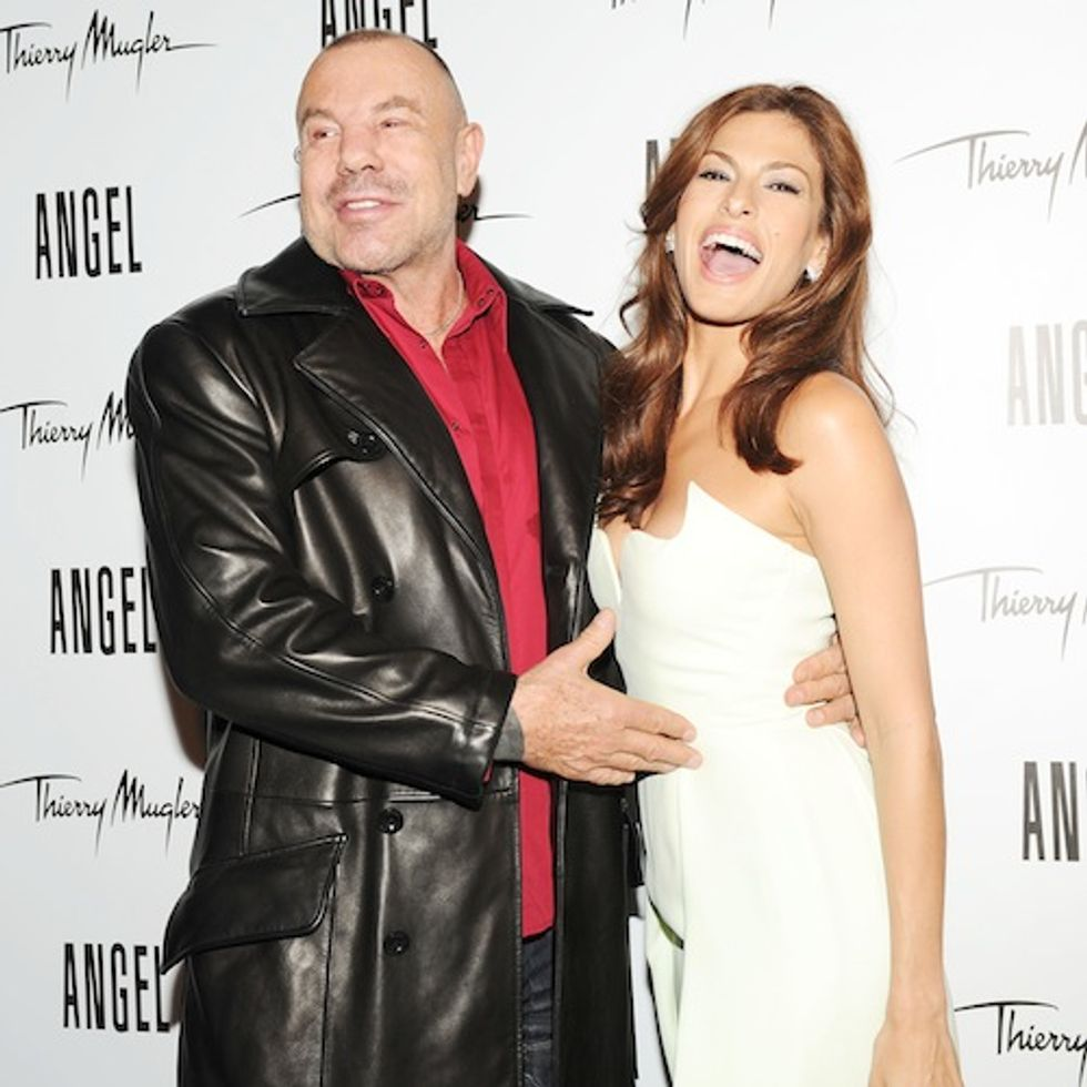 "Ooh, That Smell! The Party for Eva Mendes' New ""Angel by Thierry Mugler"" Campaign"