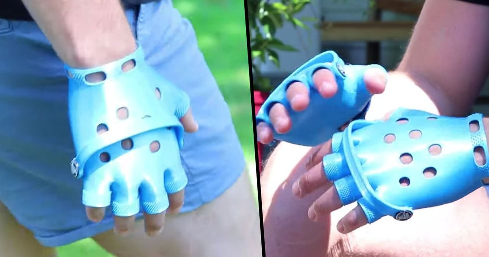 Croc Gloves Are Now a Thing That Actually Exists