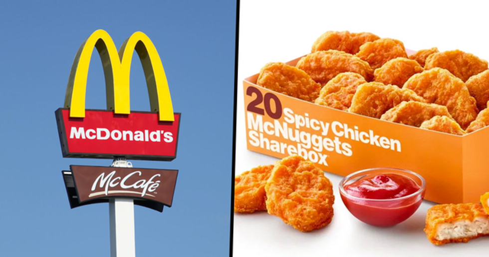 McDonald's Could Be Launching Spicy Chicken Nuggets in the U.S. This September
