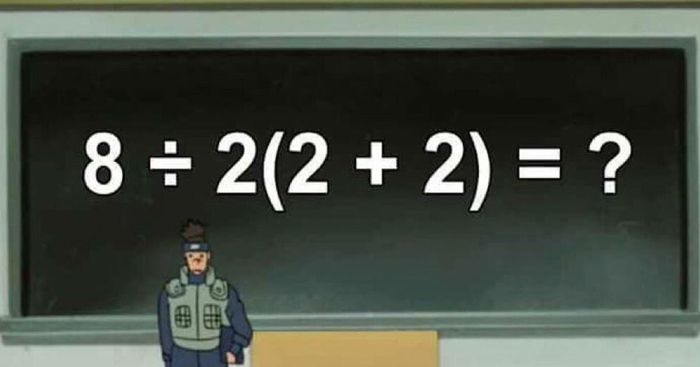 Math Equation Is Dividing the Internet Because Nobody Can Agree on Answer