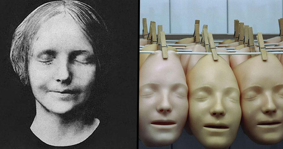 CPR Doll's Face Is a Copy of 19th Century Drowned Woman's Face