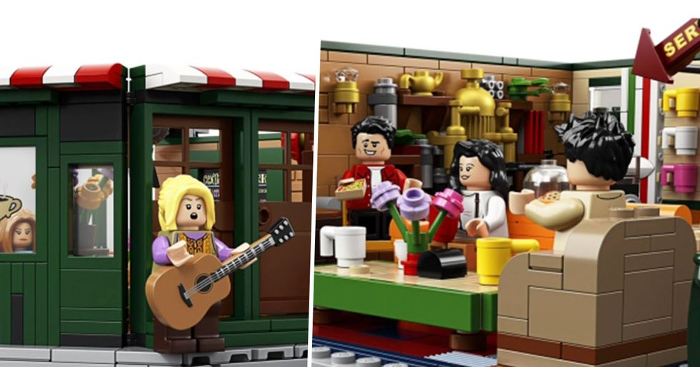 LEGO Are Releasing a 'Friends' Set to Mark the Show's 25th Anniversary and It's Perfect