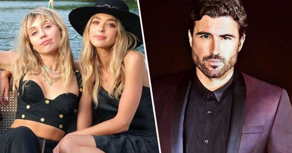 Miley Cyrus Ruins Brody Jenner on Instagram After Kissing His Ex