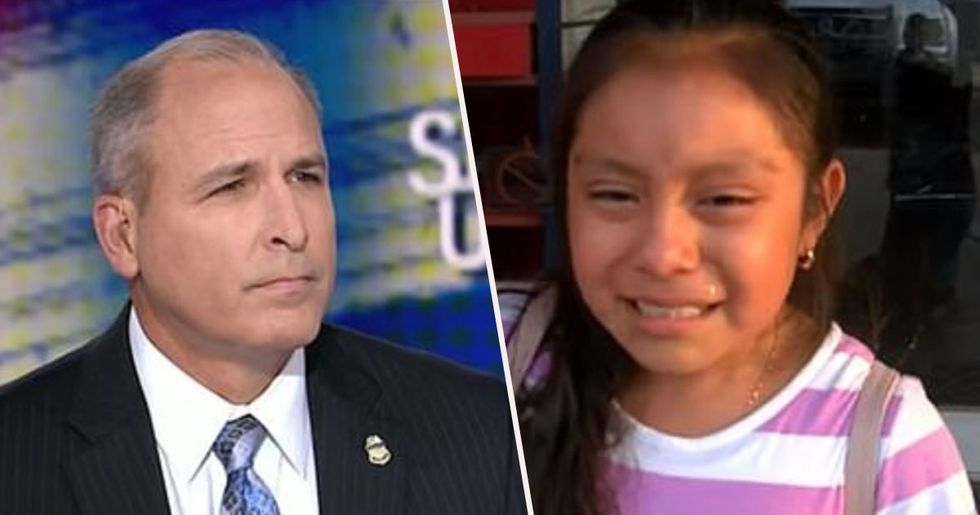 Border Chief Dismisses Crying 11-Year-Old After ICE Arrested Her Parents