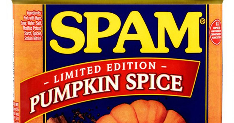 Pumpkin Spice Spam Exists and It's Surprisingly Delicious