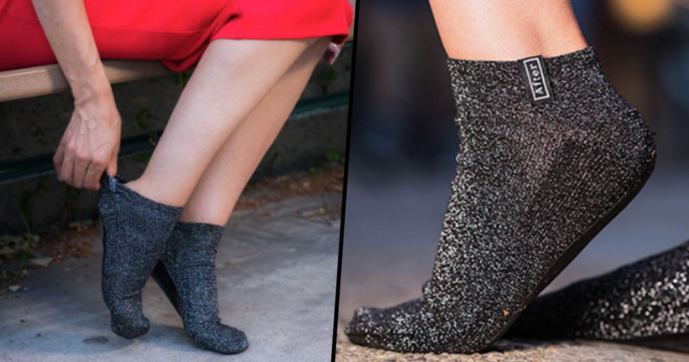 Socks with Cushioned Soles Perfect for People Who Get Sore Feet from Heels