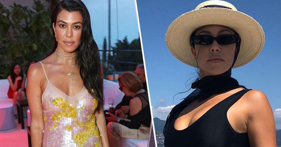 Kourtney Kardashian Praised for Showing Off Her Stretch Marks on Instagram