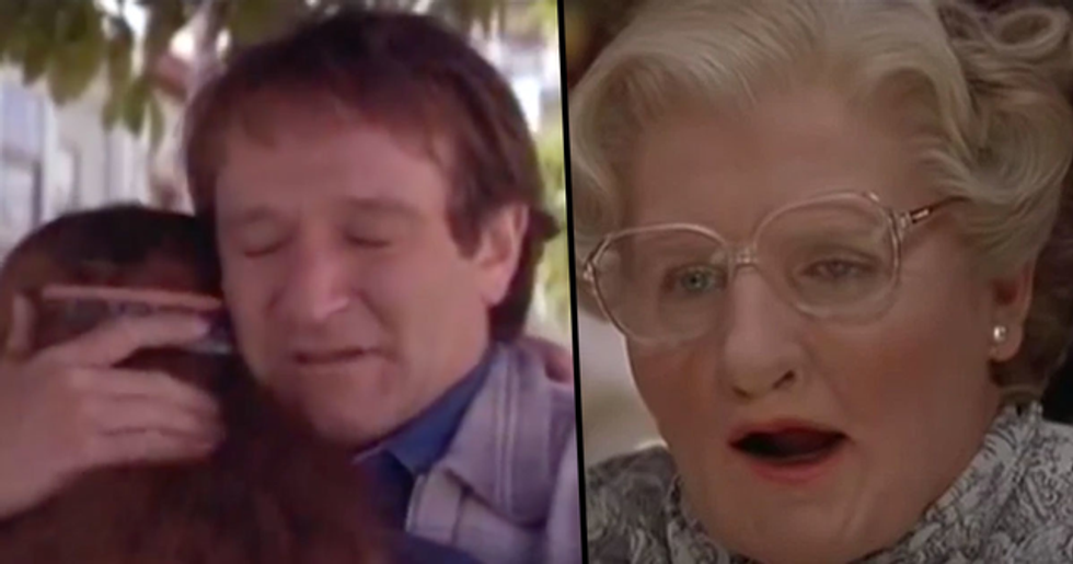 'Heartbreaking' Deleted Scenes from 'Mrs. Doubtfire' Show How Incredible Robin Williams Was