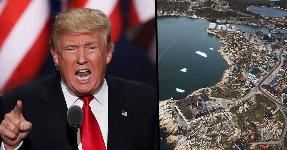 Donald Trump Cancels Meeting With Denmark's Prime Minister Because He Can't Buy Greenland