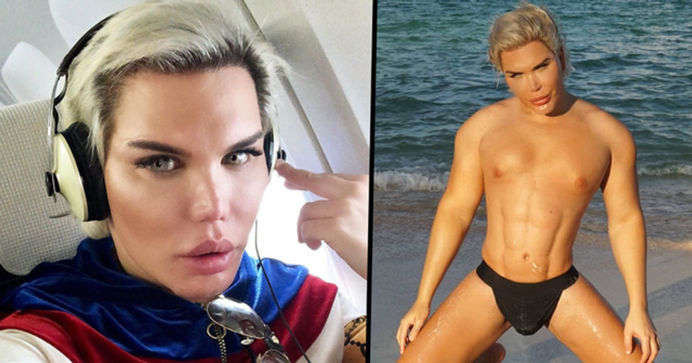 Human Ken Doll Reveals What He Used to Look Like Before Having 70 Surgeries