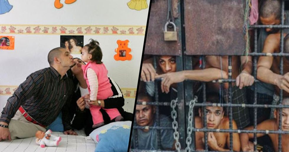 Photos Reveal What Prison Cells Look Around the World